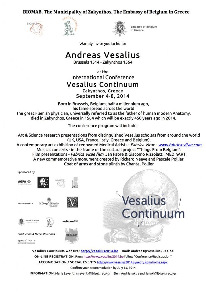 Flyer_Vesalius Continuum_2014_English
