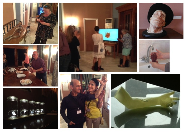 MEDinART in Fabrica Vitae, Vesalius Continuum, 4-8 September 2014, Zakynthos, Greece