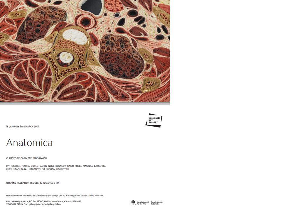 ANATOMICA: 16/01/15 – 08/03/15_Curated by Cindy Stelmackowich