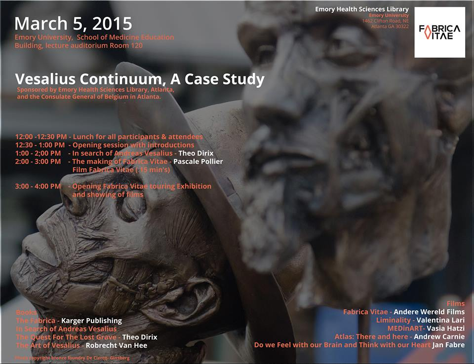 """Vesalius Continuum, A Case Study"", Emory University, 5th of March 2015"