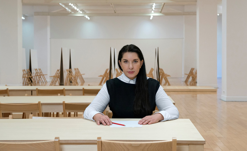 "The healing power of performance arts_Marina Abramović_""As One"" Exhibition_Athens-Greece"